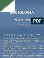 Sociologia Aula 1