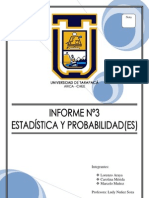 Informe Taller 3 - Estadísticas