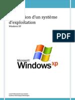 Installation Systeme Exploitation