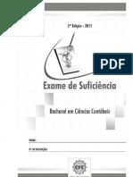 Prova Bacharel Exame 2 2011