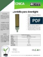 Bombilla Para Downlight - BOP11ST60