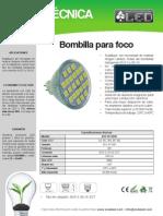 Bombilla Para Foco - BOF4ST5050