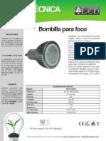 Bombilla Para Foco - BOF5CRD50