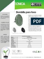 Bombilla Para Foco - BOF9X1EPR111
