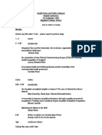 HPPN Annual Conference (2-3 Sept 2013)