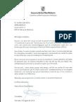Carta de María Nuria Riera