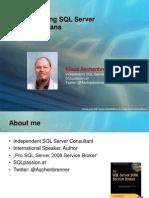 Understanding SQL Server Execution Plans - Klaus Aschenbrenner