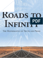 Roads to Infinity - The Mathematics of Truth and Proof - Stillwell