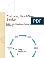 Evaluating HealthCare Service(rev).pptx