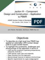 ASME Sec III design