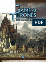 A Game of Thrones 2nd Ed. Board Game Rulebook
