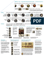 AGoT 2nd Ed. Board Game Illustrated Tutorial and Cheat Sheet v1.1