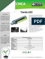 Farola Led - Fa120cep7sv
