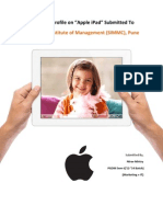 "Product Profile on ""Apple iPad"""