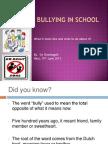 Bullying Presentation_ by Ova