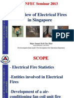 NFEC Seminar - Overview of Electrical Fires in Singapore