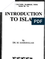 Introduction to Islam, By, Dr MuhammadHamidullah
