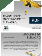 T. MÁQUINAS DE ELEVAÇÃO (APRESENTAR)