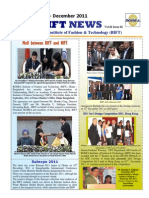 BIFT News Letter July-Dec-2011