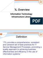 ITIL Overview 2007