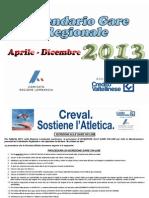 Calendario Gare Estive 2013