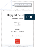 Rapport Tunisiana