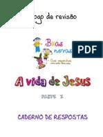 Caderno de Respostas - Vida de Jesus