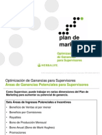 Plan Marketing 6 Ganancias Supervisor