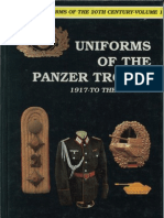 (German Uniforms of the 20th. Century, Volume 1) Uniforms of the Panzer Troops 1917 to the Present