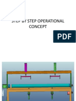 Step by Step Operational Concept for tube welding fixture
