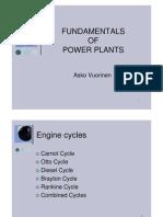 Fundamentals of Power Plants