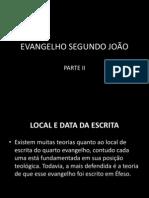 EVANGELHO SEGUNDO JOÃO2