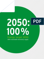 Energy target 2050: