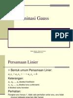 Bab 2 Sistem Persamaan Linier