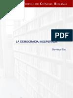 Bernardo Sorj- La Democracia Inesperada