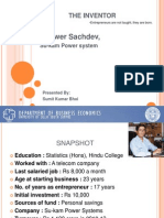 Entrepreneur journey of Kunwer Sachdev