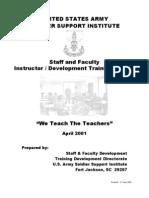 36938819 USMA Instructor Development Training