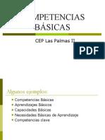 Competencias b%c1sicas Cep Las Palmas