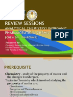 Handout Powerpoint Chem 301 PharChm1