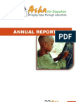 Annual Report of Asha Zurich (2012)