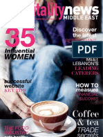 Hospitality News Middle East // Aug-Sept 2013