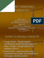 TERAPI DIBIDANG PSIKIATRI.ppt