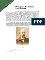 Crítica Marxista Leninista - El Segundo Congreso del Partido bolchevique de la URSS