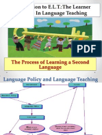 The Process of Learning a Second Language