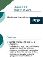 Intro Ducci on Java