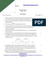 8171 Cbs e Sample Paper