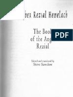 Sepher Reziel Hemelach (English)