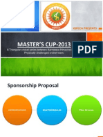MASTER'S CUP-2013