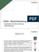 GIMS Retail Marketing Event 2013