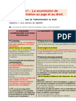 Droit Administratif S1. Rattrapages 2013 (FICHES)